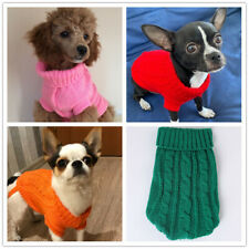 Warm Knitted Jumper Puppy Dog SWEATER Size XXXS XXS XS for Teacup Chihuahua Cat
