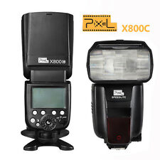 Pixel X800C  HIGH SPEED LCD E-TTL Master Flash per CANON EOS  40D  50D  60D  70D