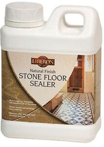 Liberon Natural Finish Stone Terracotta Slate Floor Sealer Protector 1 & 5 Litre