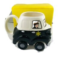 Dick Tracy Vintage Coffee Mug 051 Cop Car Real Rolling Wheels Wheelees Applause
