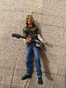 Nirvana Kurt Cobain Smells Like Teen Spirit Action Figure Neca Music Loose