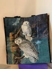 Audubon Reusable Storage Shopping Bag Owls and Pelican New