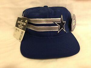 NWT VTG STARTER *  DALLAS COWBOYS Blue Adjustable BackSnap Hat *
