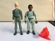 The Real Ghostbusters Kenner Vintage 1984 Winston Zeddemore w/ Chomper Ghost