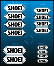 14pc HQ Extended Replacement Sticker Kit for SHOEI Helmet Decals Emblem Badge