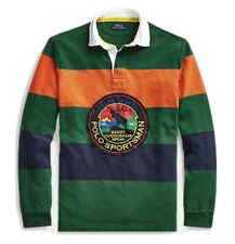 Polo Ralph Lauren Sportsman Polo Country Rugby Long Sleeve Shirt NEW Size XL