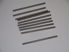 """10 NEW UNGROUND SOLID CARBIDE ROUND BLANK .135"""" x 3"""" , FREE SHIPPING!!!"""