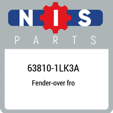 63810-1LK3A Nissan Fender-over fro 638101LK3A, New Genuine OEM Part