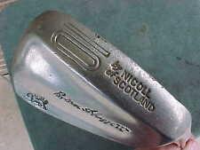 Nicoll o SCOTLAND Brian Huggett Golf Club Forged Blade PW Pitching Wedge 10 Iron