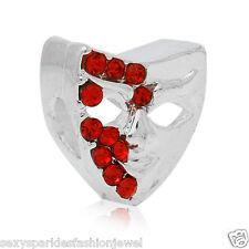 Halloween Mask Charm Bead for European Snake Chain Charm Bracelet …3769