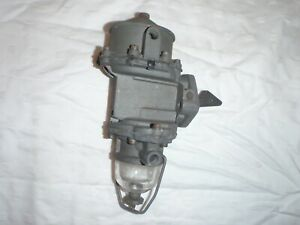 OLD REBUILT Double Action Fuel & Vacuum Pump 1947-1953 Kaiser Frazer Vac Wipers