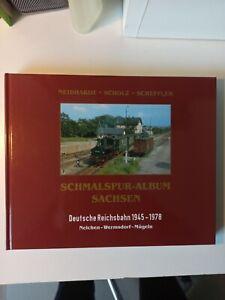 Schmalspur- Album Sachsen Schmalspuralbum Neichen Wermsdorf Mügeln