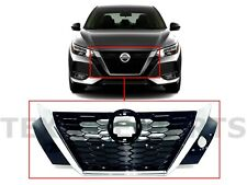 New Fits Sentra Front Bumper Upper Grille Grill Assembly 2020-2021 Nissan