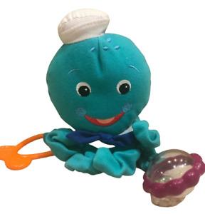 Baby Einstein Ossie Octopus Activity Plush Baby Rattle Toy Nursery Baby Gift