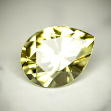 APATITE-MEXICO 5.79Ct FLAWLESS, PERFECT PEAR CUT 13.7 x 10.6 mm, FOR JEWELRY
