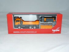herpa 307772 MAN TGS M 6x6 Winterdienstfahrzeug kommunal NEU + OVP