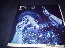 """ETTA JAMES SIGNED RECORD TITLED """"SEVEN YEAR ITCH"""" MINT! RARE! R.I.P! L@@K PROOF!"""