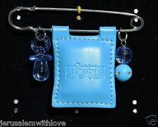 Jewish Gift For Baby Boy WITH TEHILIM BOOK PU leather Judaica Israel Pink