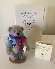 """DEB CANHAM  """"HARRY HERALD"""" FROM ALICE IN WONDERLAND  LIMITED EDITION  MOHAIR"""