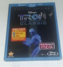 New listing Disney Tron special edition Blu-ray Dvd with slipcover