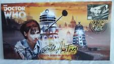 DR/DOCTOR - WHO THE DALEK INVASION OF EARTH AUTOGRAPHED COMMERATIVE STAMP COVER