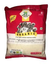 24 Mantra Organic Desiccated Coconut Powder - Unsweetened - 1 lb bag