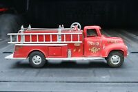 Tonka Fire Ladder Pumper Truck - Pressed Steel - USA