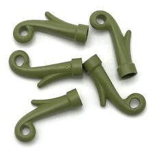 Lego 5 New Olive Green Plant Grass Stem Leaves Parts
