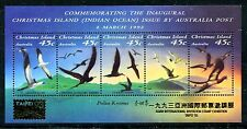 Christmas Islands 349g, MNH, Birds Abbott's Booby Christmas Frigateb 1993 x20201
