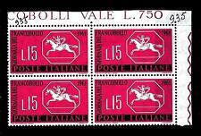 ITALIA REP. - 1961 - 3ª giornata del francobollo - 15 L. - Cavallino sardo. Jour