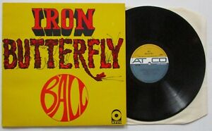 IRON BUTTERFLY. BALL.ORIGINAL UK VINYL LP. G/F.1969.ATO RECORDS 228011.1st PRESS