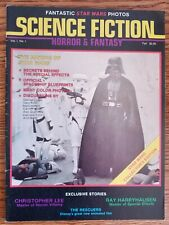 Science Fiction, Horror And Fantasy magazine / Rare #1 / Making of Star Wars, Vg