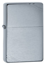 Zippo Windproof 1937 Vintage Series Brushed Chrome Lighter,  # 230, New In Box