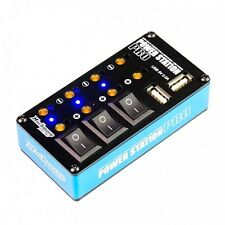 Much-More Power Station Pro Multi Distributor Blue (Two USB Port) - MM-PSPB