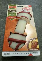 Nylabone Rawhide Alternative Knot Bone Beef - Large