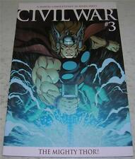 CIVIL WAR #3 (Marvel 2006) Ed McGuinness Variant Cover (VF) 1st RAGNAROK / THOR