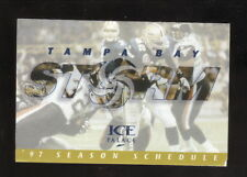 Tampa Bay Storm--1997 Pocket Schedule--AFL