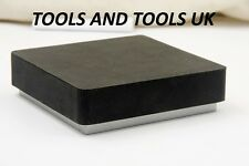 3'' STEEL & RUBBER BLOCK DOUBLE SIDED COMBINATION METAL WORKING ANVIL BENCH TOOL