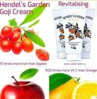 ❌3.goji cream.Goji berry revitalizing cream Hendel Garden 50ml Hologram original