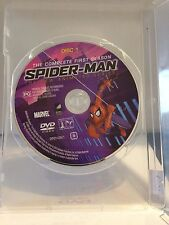 SPIDER MAN - THE COMPLETE 1ST SEASON (DISC 1) (R4 - PAL - LIKE NEW) - DVD #1013