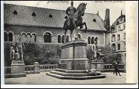 BRAUNSCHWEIG Niedersachsen AK um 1910/20 Herzog Willhelm Reiter Denkmal Partie