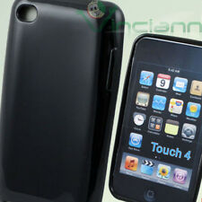 Custodia shiny soft in TPU morbida LUCIDA NERA per iPod Touch 4 4G