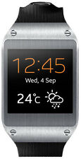Samsung Galaxy Gear 41mm Stainless Steel Case Jet Black Modern Buckle -...
