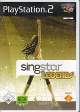 SingStar Legends (PlayStation2)