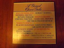 A GRAND OPERA GALA The Classics Record Library  3 Records Box Set, The Classics