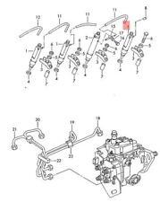 Genuine Volkswagen Complete Injection Pump NOS Audi 80 90 8C 028130201