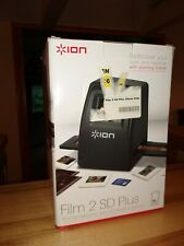 ION Film 2 SD Plus  Hi-Res 35mm Slide and Negative Scanner 14 Megapixel sensor