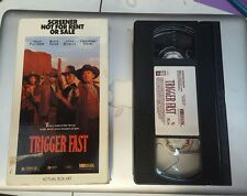 TRIGGER FAST VHS RARE SCREENER NOT FOR RENT OR SALE