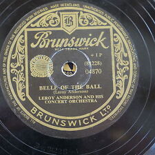 78rpm LEROY ANDERSON belle of the ball / blue tango