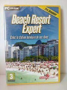 Beach Resort Expert - Jeu PC - Neuf sous blister / New & selead